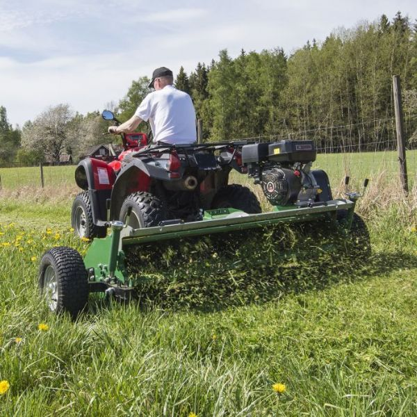 ATV Mower 120 with flap.